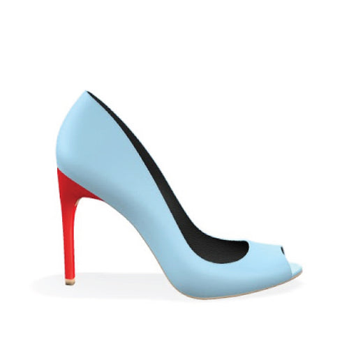 NATALIE - LIGHT BLUE RED