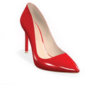SHARP 100 - RED PATENT