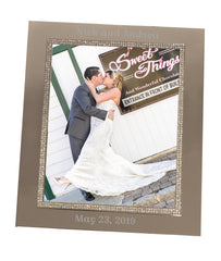 Personalized Sparkling Silver 8x10 Frame