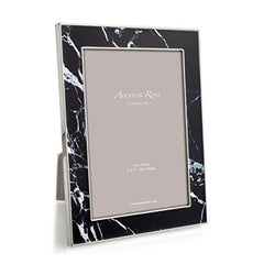 Addison Ross Black Marble 5x7 Picture Frame