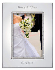 Personalized Lenox Devotion 5x7 Picture Frame