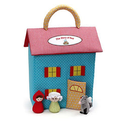Gund Little Red Riding Hood Dollhouse Playset