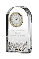 Waterford Personalized Lismore Essence Desk Clock