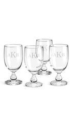 Dansk Personalized Hannah Goblets, Set of 4