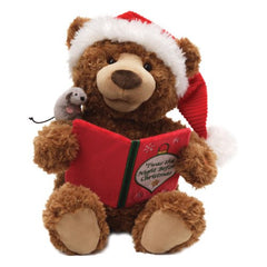 Gund Storytime Bear Animated Plush