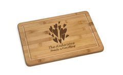 "Personalized Lipper Bamboo Non-Slip 13.75"" Cutting Board"