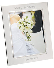 Personalized Lenox Devotion 8x10 Picture Frame