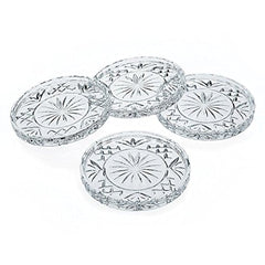 Godinger Crystal Dublin Coasters Set Of 4 - Misc