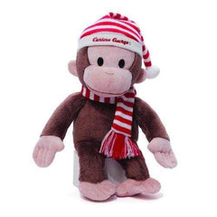 Gund Curious George Christmas Plush - Misc
