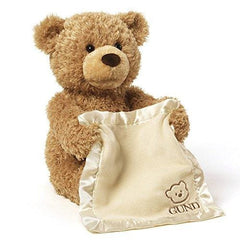 Gund Peek-A-Boo Teddy Bear Animated Plush - Misc