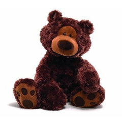 Gund Philbin 18 Chocolate Brown Teddy Bear Plush - Misc