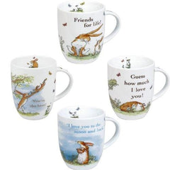 Konitz Mugs Guess How Much I Love You Collection Mugs Set Of 4 - Misc