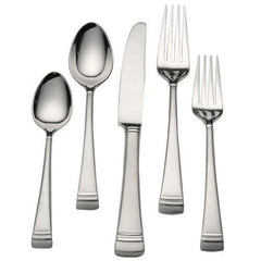 Lenox Federal Platinum Frosted Flatware 20Pc Flatware Set - Misc