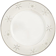 Lenox Federal Platinum Snowflake Accent Plate - Misc