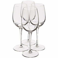 Luigi Bormioli Personalized Crescendo 13Oz Chardonnay Wine Glasses Set Of 4 - Misc