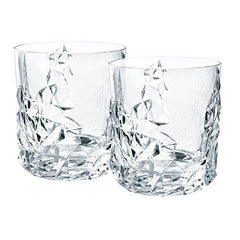 Nachtmann Sculpture Crystal Tumblers Set Of 2 - Misc