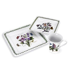 Portmeirion Botanic Garden Square 12Pc Dinnerware Set - Misc