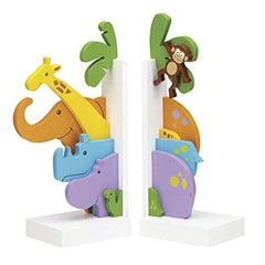 Reed & Barton Jungle Parade Bookends - Misc