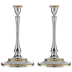 Reed & Barton Roseland Candlestick Holders Set Of 2 - Misc