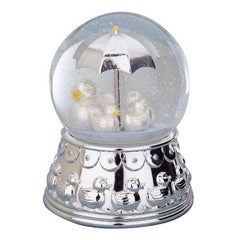 Reed & Barton Silver-Plated Something Duckie Rain Globe - Misc