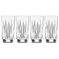 Reed & Barton Soho Crystal Iced Beverage Glasses Set Of 4 - Misc