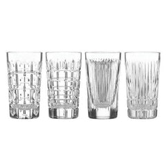 Reed & Barton Thomas Obrien New Vintage Hiball Glasses Set Of 4 - Misc
