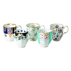 Royal Albert 100 Years 1900-1940 14.1 Oz Mugs Set Of 4 Assorted - Misc
