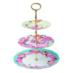 Royal Albert Miranda Kerr Devotion Gratitude & Joy 3-Tier Cake Stand - Misc