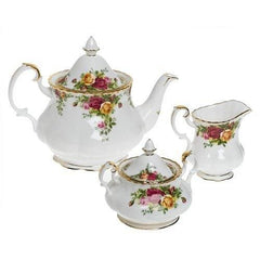 Royal Albert Old Country Roses 3Pc Tea Set - Misc