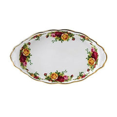Royal Albert Old Country Roses Regal Sugar & Creamer Tray - Misc