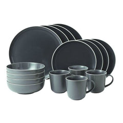 Royal Doulton Gordon Ramsay Bread Street Slate 16Pc Dinnerware Set - Misc