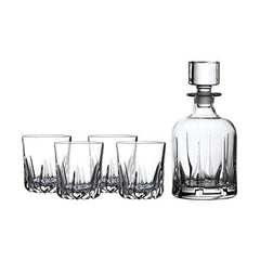 Royal Doulton Mode Whiskey Decanter & 6 Tumblers Set - Misc