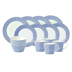 Royal Doulton Pacific Dots 16Pc Dinnerware Set - Misc