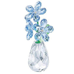 Swarovski Crystal Flower Dreams Forget Me Knot Figurine - Misc