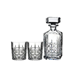 Waterford 32Oz Brady Decanter & 11Oz Dof Glasses Set Of 2 - Misc