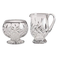 Waterford Crystal Lismore Footed Sugar & Creamer Set - Misc