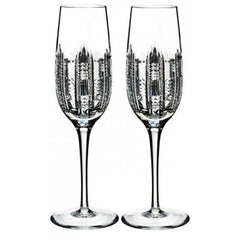 Waterford Essentially Dungarvan Champagne Flutes Set Of 2 - Misc
