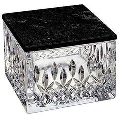 Waterford Lismore Covered Box W/marble Lid - Misc