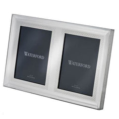 Waterford Lismore Diamond Silver 5X7 Double Frame - Misc
