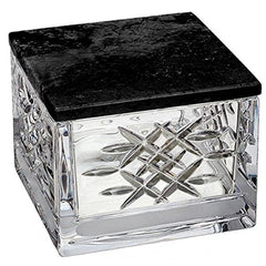 Waterford Lismore Revolution Covered Box W/marble Lid - Misc