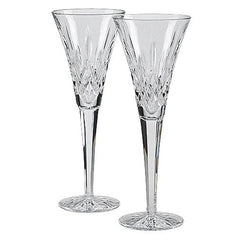 Waterford Lismore Toasting Flutes Set Of 2 - Misc