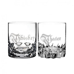 Waterford Whiskey & Water Dof Glasses Set Of 2 - Misc
