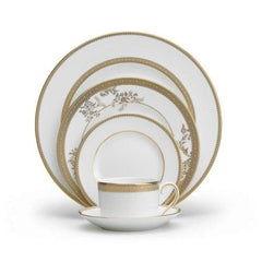 Wedgwood Vera Lace Gold 5Pc Place Setting - Misc