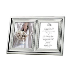 Wedgwood Vera Wang With Love 5X7 Double Invitation Frame - Misc