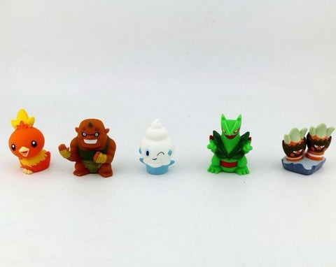 1 LOT DE 10 FIGURINES YO-KAI WATCH - LIVRAISON GRATUITE !
