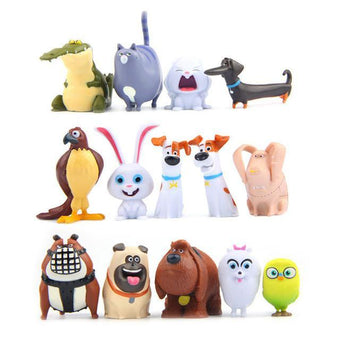 1 LOT DE 14 FIGURINES THE SECRET LIFE OF PETS - LIVRAISON GRATUITE !