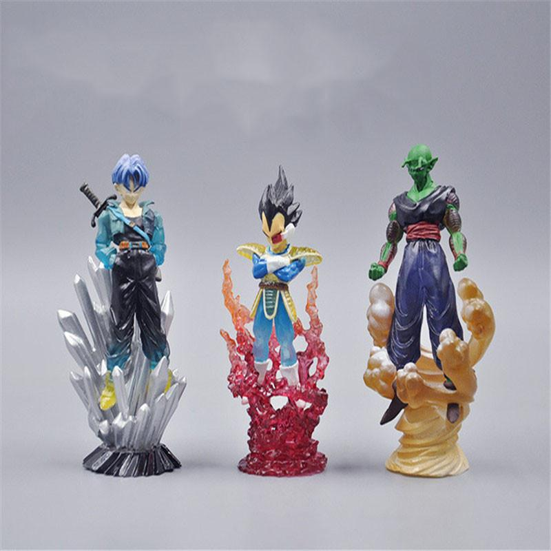 FIGURINES PICCOLO / TRUNKS / VEGETA (9 CM) DRAGON BALL Z - LIVRAISON GRATUITE !