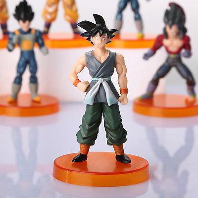 1 LOT DE 7 FIGURINES (12 CM) DRAGON BALL Z - LIVRAISON GRATUITE !
