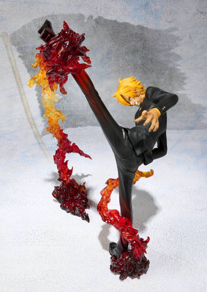 FIGURINE SANJI BATTLE VERSION ONE PIECE - LIVRAISON GRATUITE !