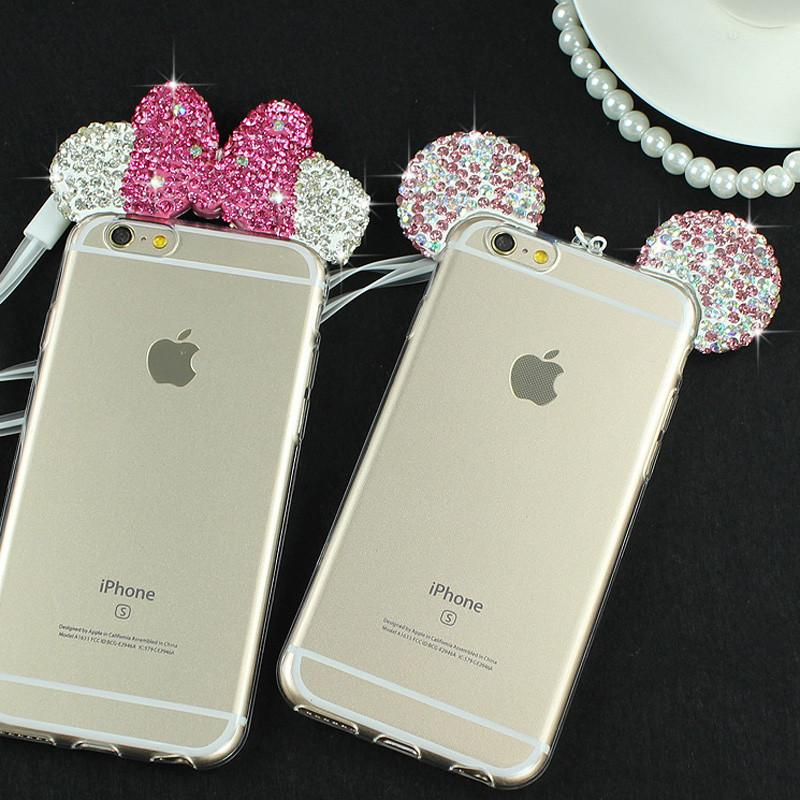 coque iphone 8 mickey rose